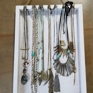 Other - Wooden necklace holder